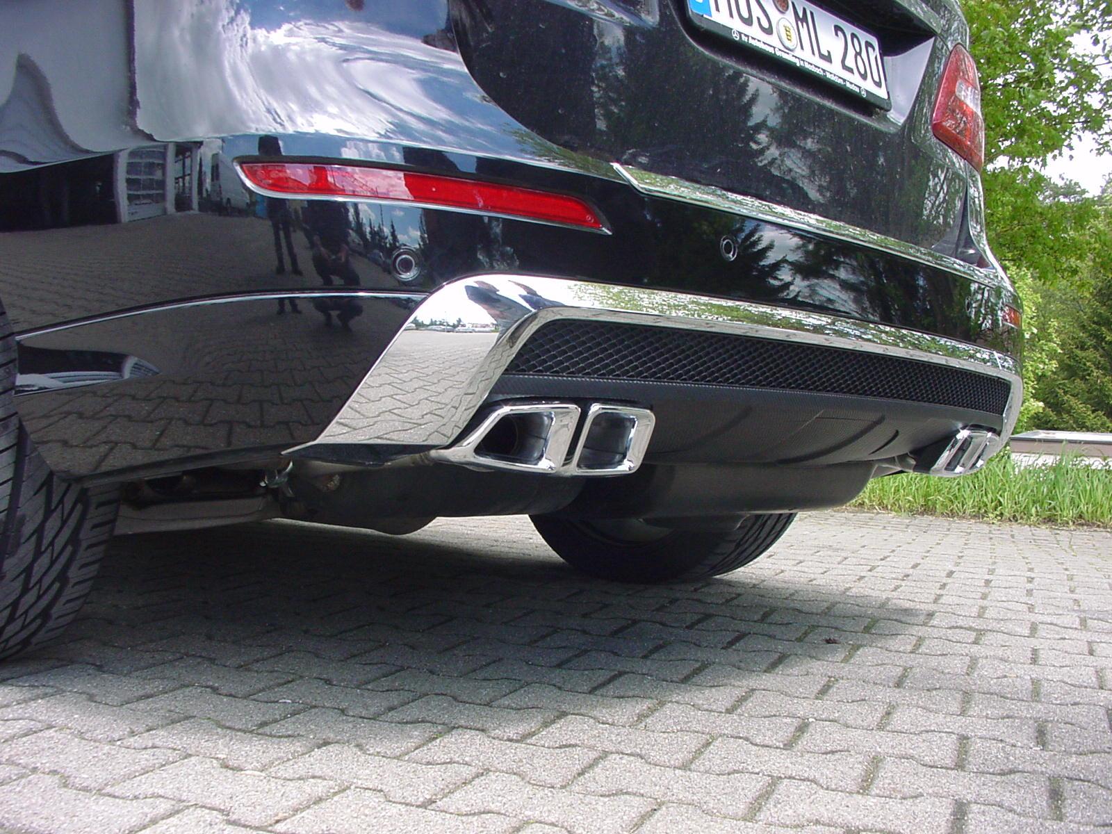 ML W166 Sportendrohr