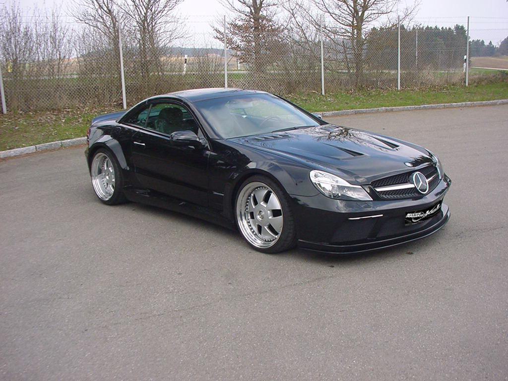 Facelift Black Series look