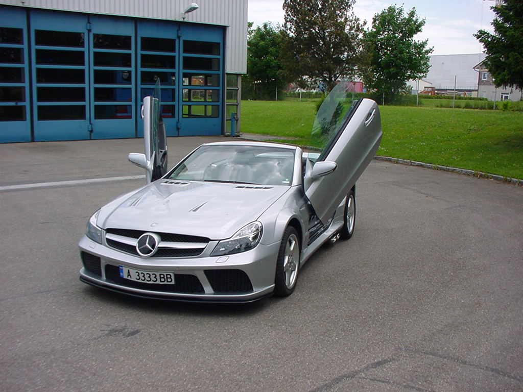 Facelift AMG Black Series Look