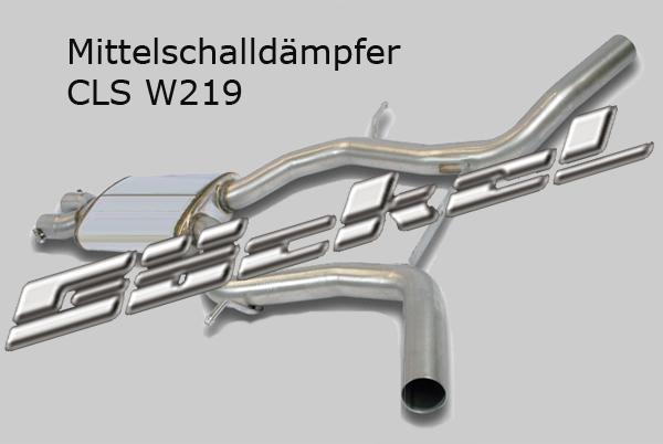 Mittelschalldämpfer CLS W219
