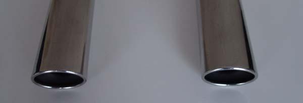 Sport-Endrohr goeckel amg 32 look 2flutig