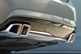 Mercedes Sportauspuff  Endrohr AMG 63 Ausgang links & rechts 4 flutig
