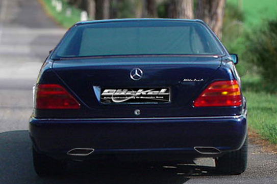 sportschalldaempfer mercedes CL w140