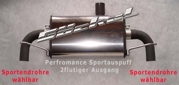 Sportauspuff goeckel GLA X156