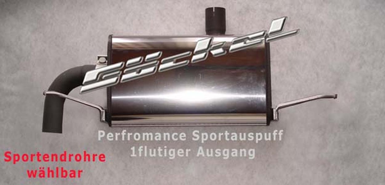 Sportauspuff goeckel A-Klasse w176