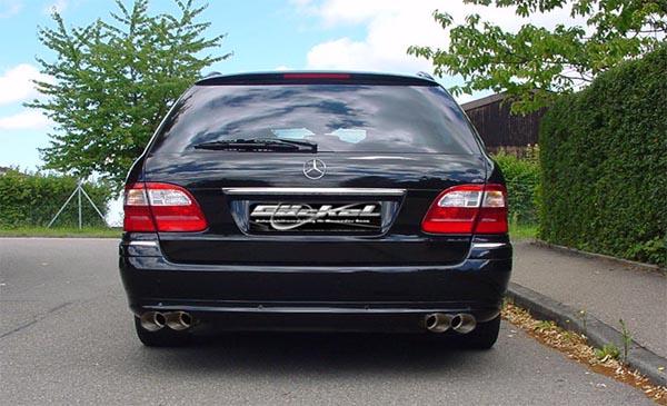 Sportauspuff goeckel E-Klasse W211