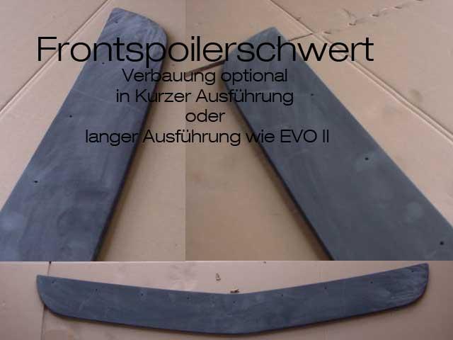 Frontspoiler Schwert EVO 1