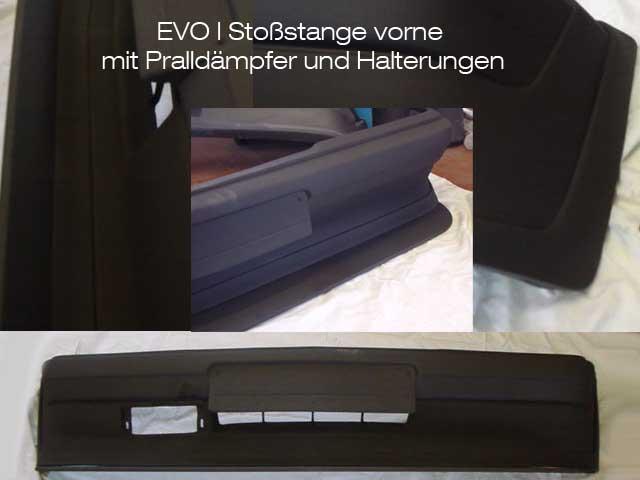 Stoßstange vorne EVO 1
