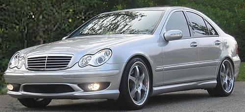 Frontspoiler_amg-c32-look_Mercedes_C-Klasse_W203_Goeckel