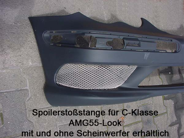 Frontspoiler_amg-c55-look_Mercedes_C-Klasse_W203_Goeckel