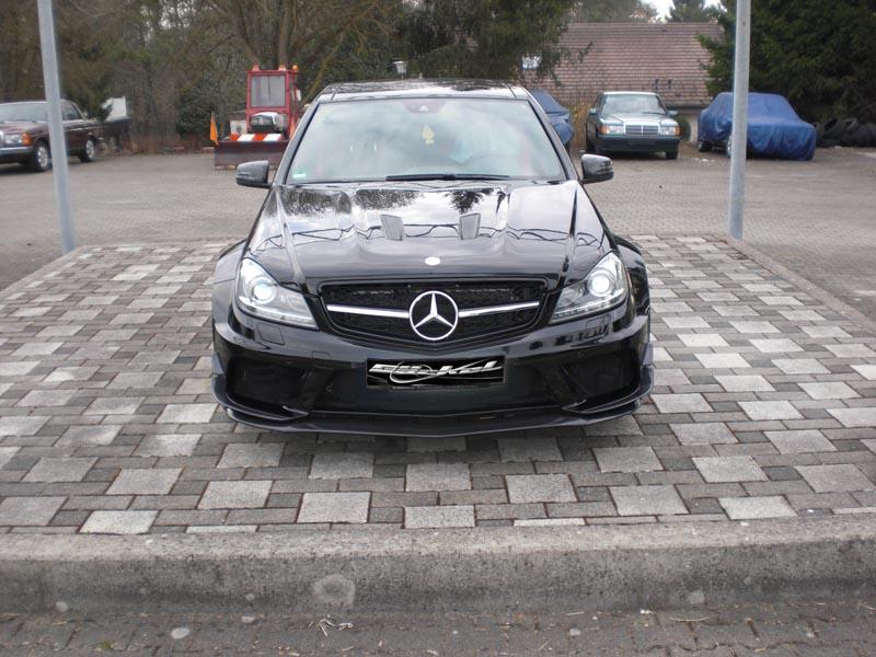 Spoiler Stoßstange Black Series-Look