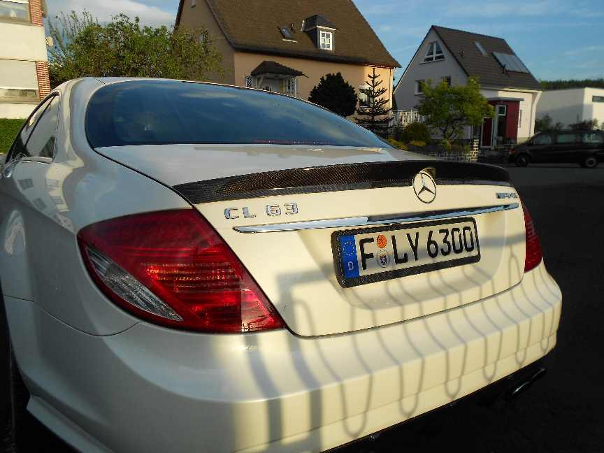 Heckspoiler CL W216