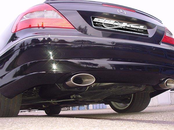 Mercedes heckverkleidung dezent CLK W209