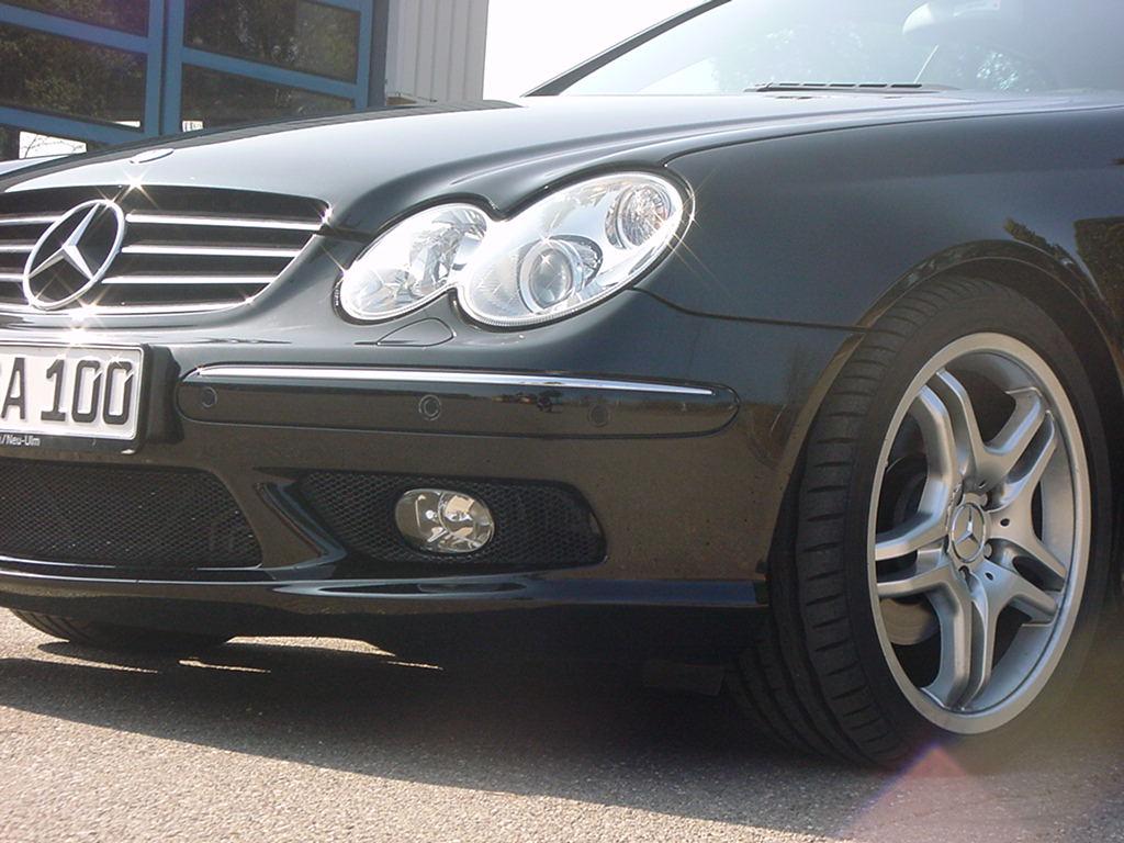 Mercedes frontspoiler lippe CLK W209