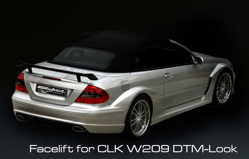 CLK W209 DTM Look Bodykit goeckel
