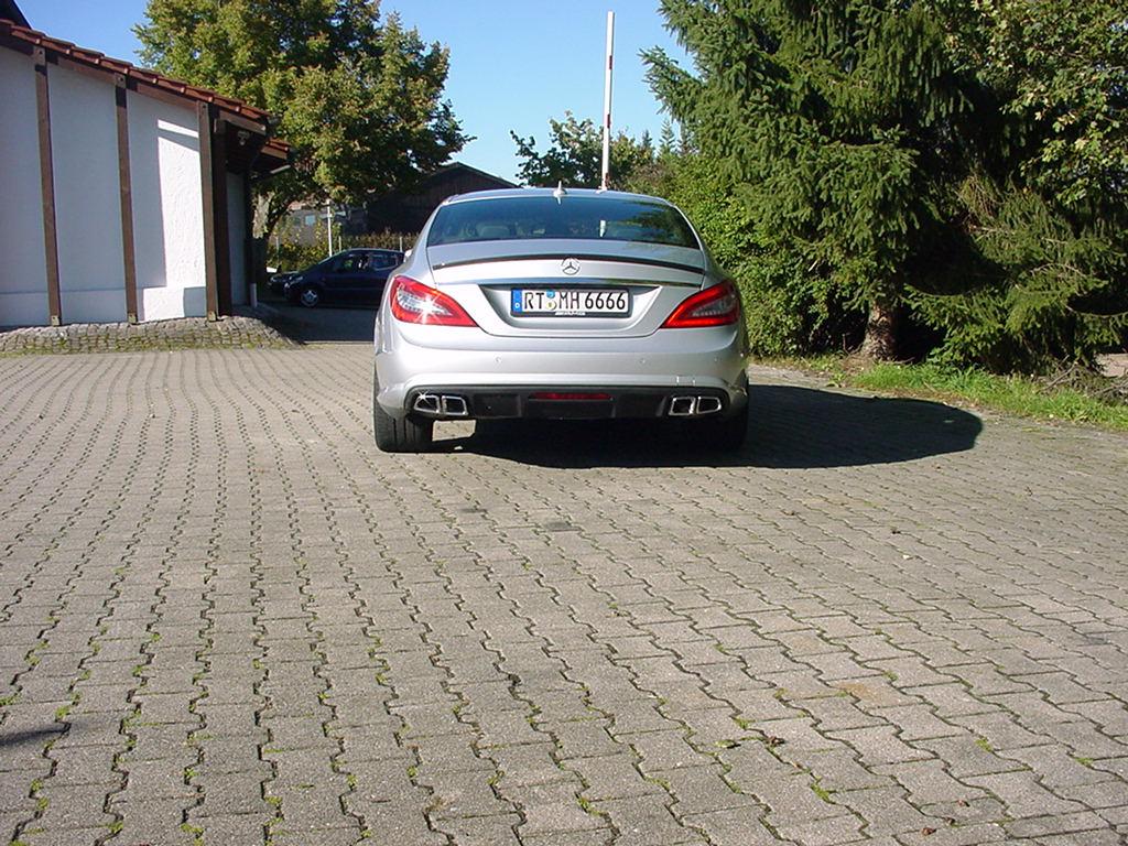CLS W218  AMG 63 Sportendrohre