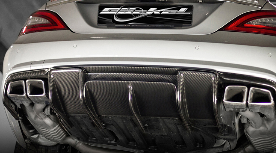 CL W216 Diffusor Performance Ausgang links & rechts