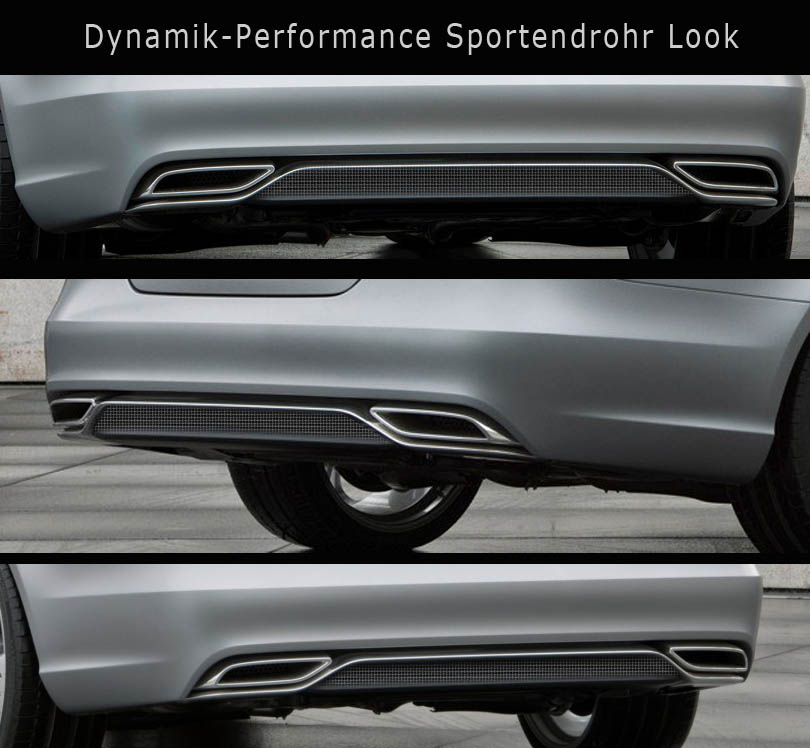 Sport Endrohr System CLS X218 Shootig Brake