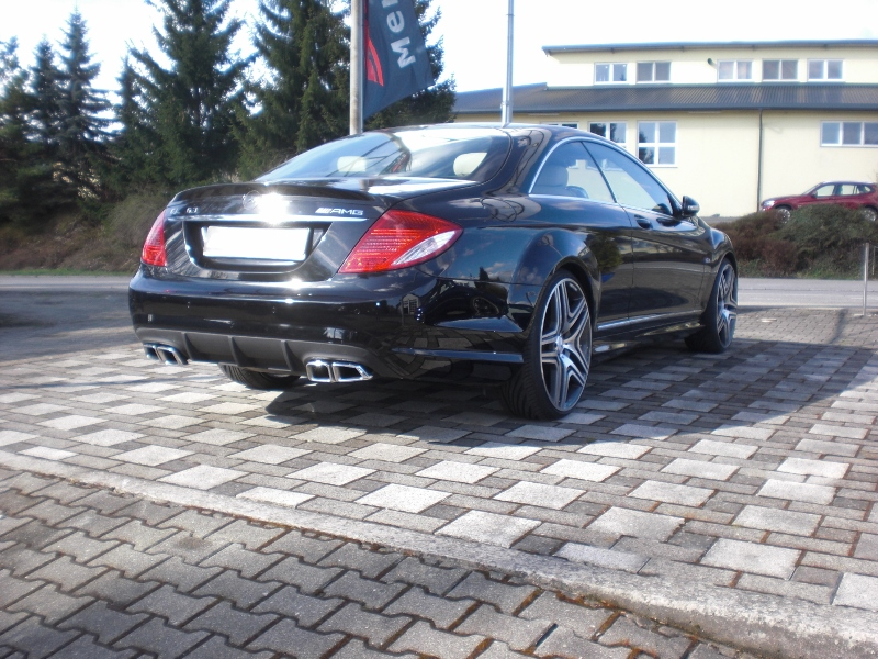 CL W216 Heckstoßstange AMG 65 65 Styling Göckel Performance
