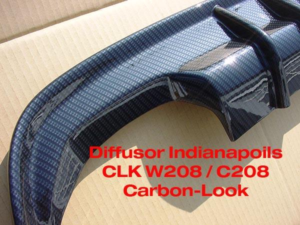 CLk W208 Diffusor Indianapolis
