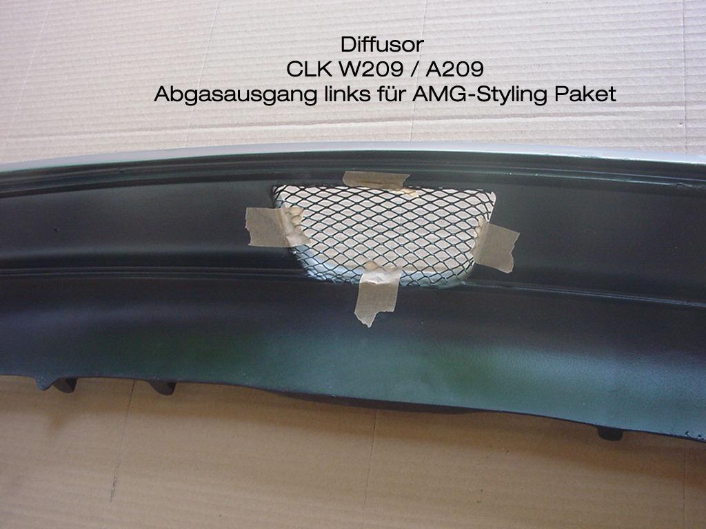 CLK W209 Diffsuor AMG Indianapolis