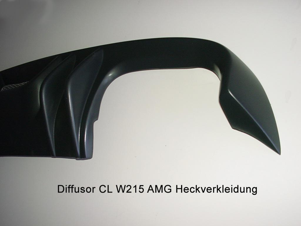 CL W215 Diffusor Indianapolis