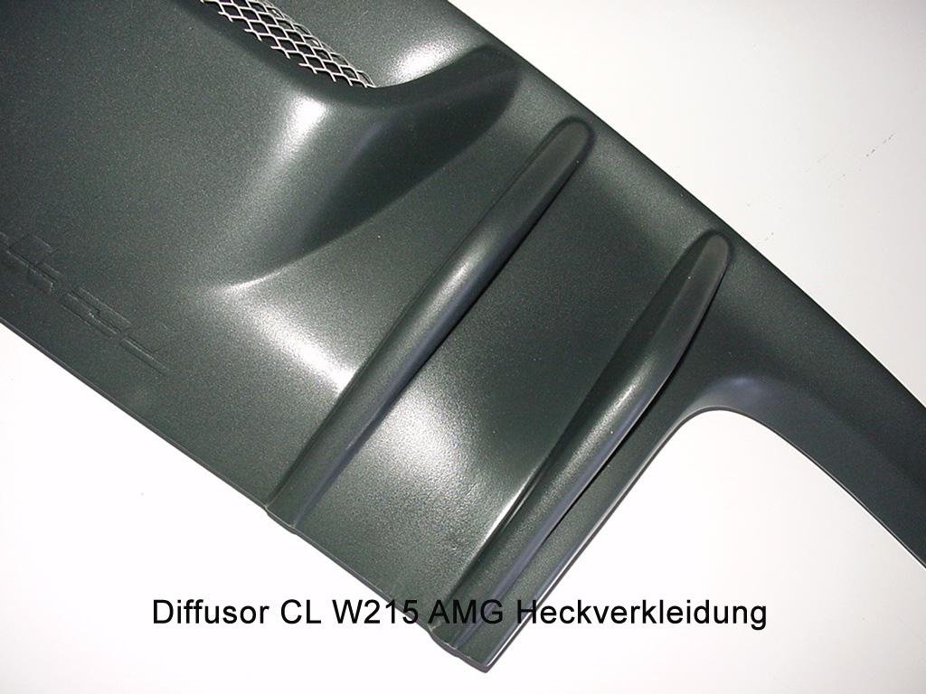 Diffusor CL W215 Ausgang links  & rechts AMG CL W215