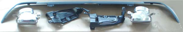 E-Klasse W212 Sportendrohr Look bis 03.2013