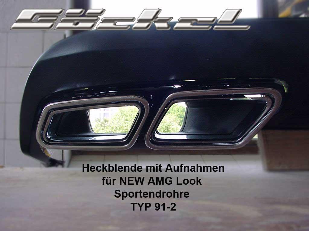 AMG Endrohr Systeme, E-A207, E-C207, E-W207, Diffusor, Sportendrohr, Sportauspuff, Heckblende, Goeckel Perfromance