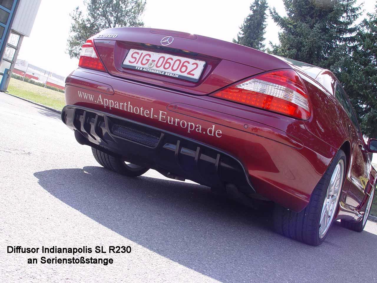 SL R230 Diffusor Dynamik