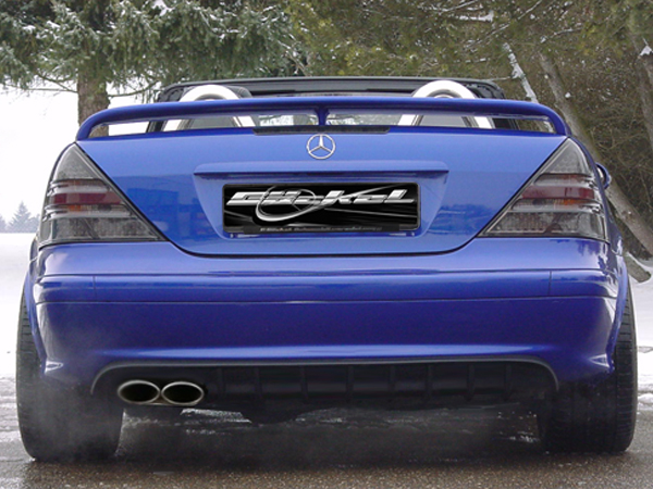 SLK r170 Diffusor Diffuser Mercedes Dynamik