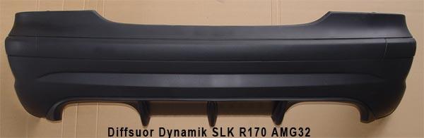 SLK R170 Diffusor Dynamik