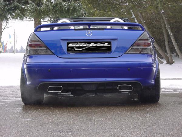 SLK r170 Diffusor Diffuser Mercedes Indianapolis