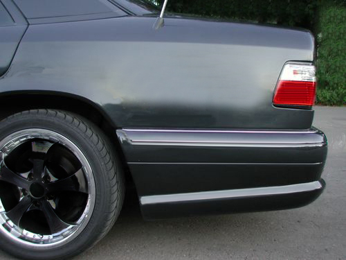 Mercedes w124 accessories for Mercedes benz e350 accessories