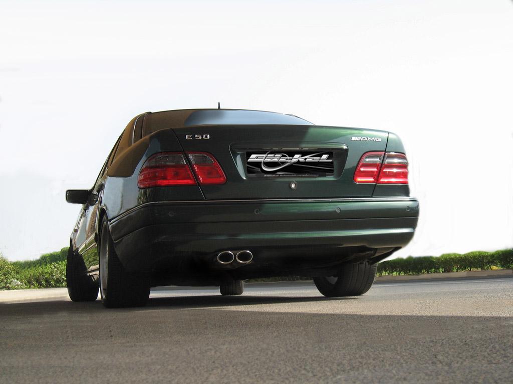 Heckverkleidung AMG55-Look Mercedes_E-Klasse_W210_AMG 50 Goeckel