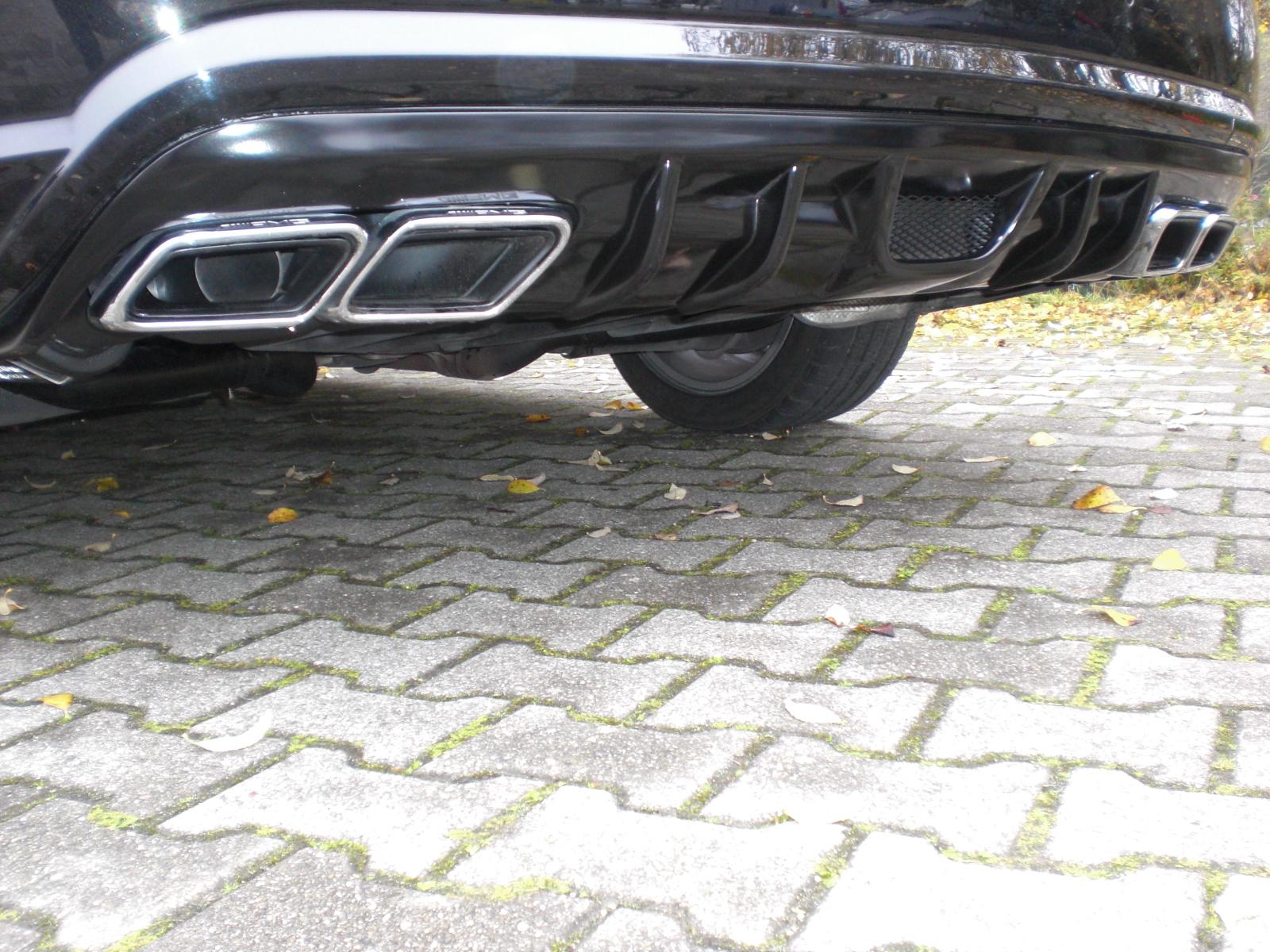 AMG 63 Sportendrohr Styling E-Klasse W207 goeckel automobilveredelung