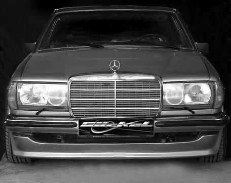W123 Frontspoiler goeckel
