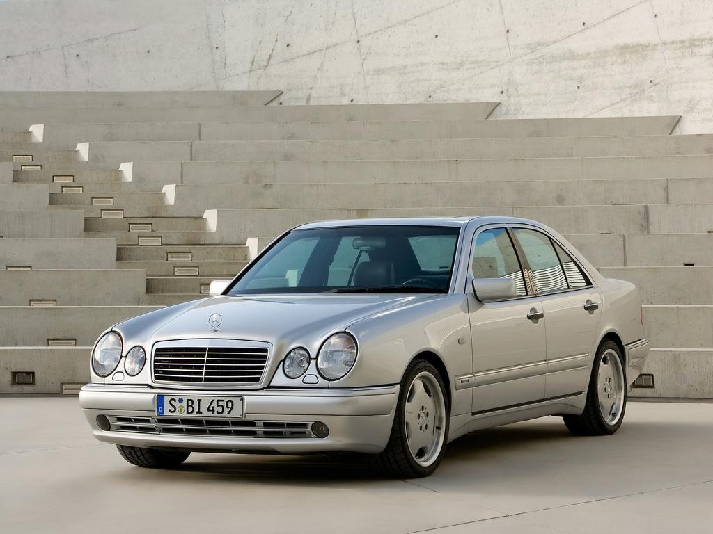 Frontspoiler_Mercedes_E-Klasse_W210_AMG 50 Goeckel