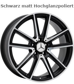 Felgen Design A30 Schwarz Hochglanzpoliert