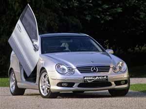 Flügeltürenc-coupe
