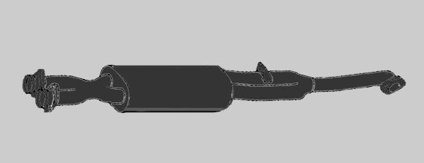 G-Modell Katalysator
