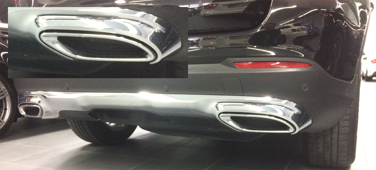 GLC X253 Sportendrohr Look  Gockel Performance