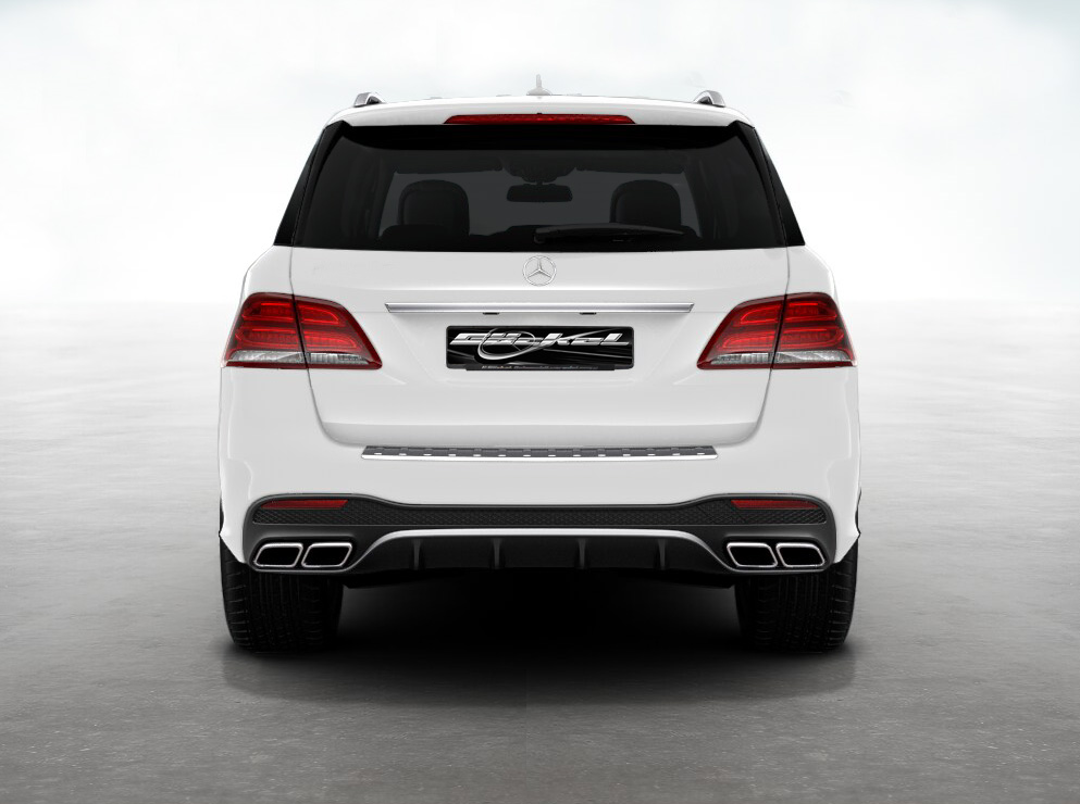 GLE W166 AMG 63 Look Abgassystem