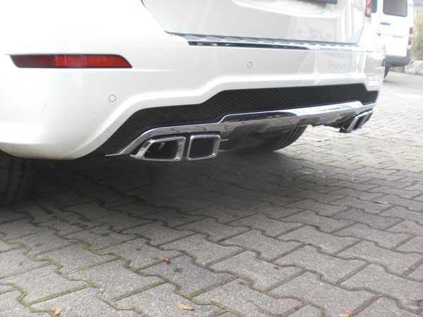 GLK X204  Sportauspuff, Sportendrohr, AMG, AMG63, Klappenauspuff, Soundrohr, Ersatzrohr, Powerrohr, Sound von goeckel Perfromance