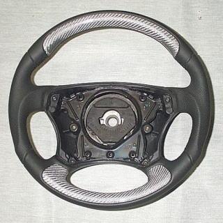S Klasse W220 Sportlenkrad Carbon Look Göckel