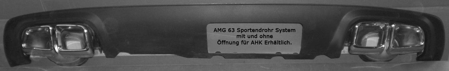 AMG Endrohr Beispiel
