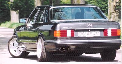 Mercedes s-klasse w126 s, se, sel