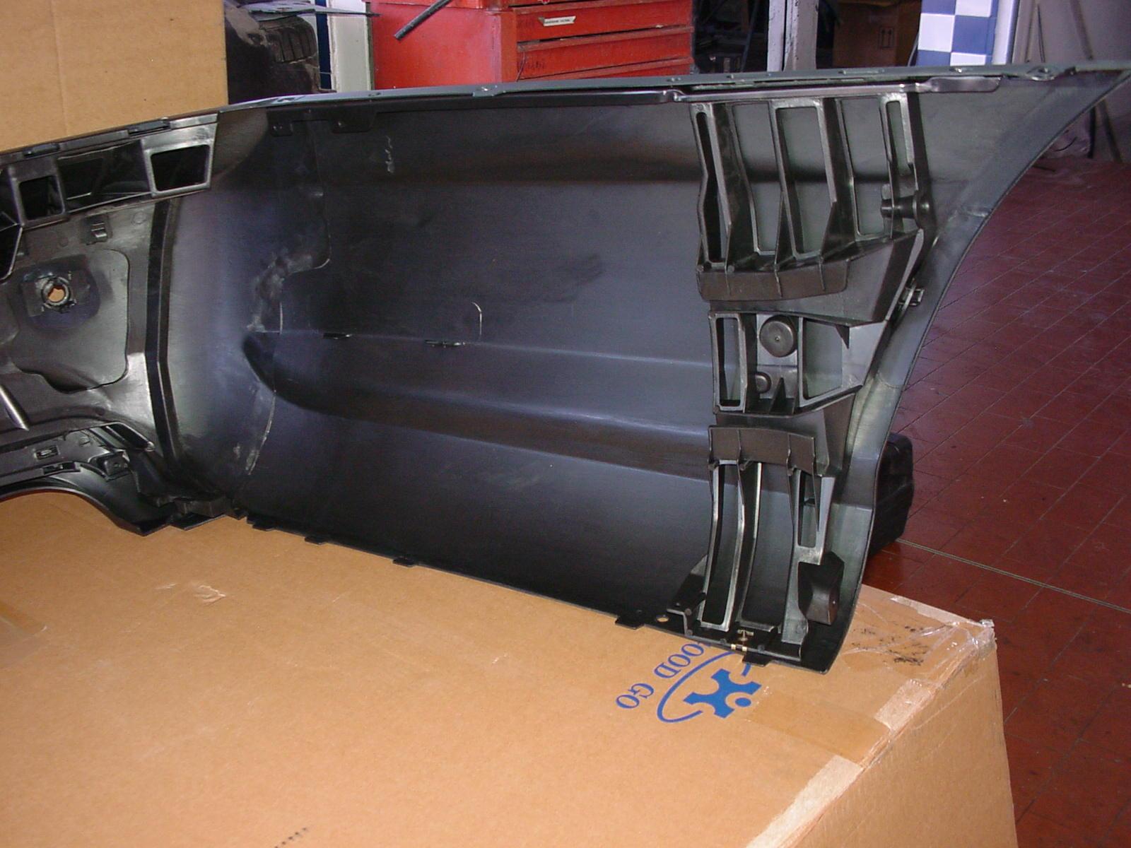 S-Klasse W221 Heckverkleidung  Sportauspuff Sportendrohr