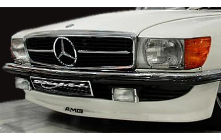 Frontspoiler SL R107 W107 C107 AMG-Look Goeckel