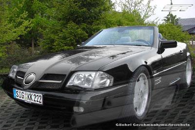 Sport Motorhaube SLR Look SL R129